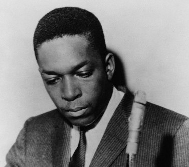 John Coltrane, jazz saxophonist shown in an undated photo. (AP)