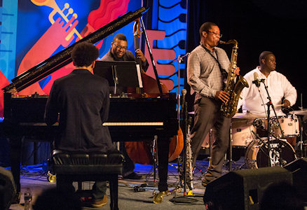 The Ravi Coltrane Quartet performs at the 56th annual Monterey Jazz Festival in Monterey, Calif, 2013. (Photo: John Green/Bay Area News Group)